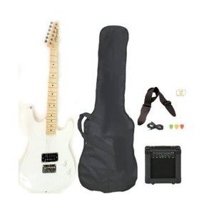 Davison Guitars GTR235 WHITE PKG
